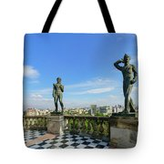The Historical Castle - Chapultepec Castle Tote Bag