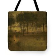The Home Of The Heron Tote Bag