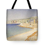 The Jetty At Cassis Opus 198 Tote Bag