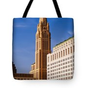 The Leveque Tower Of Columbus Ohio Tote Bag