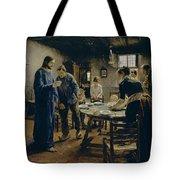 The Mealtime Prayer Tote Bag