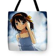 The Melancholy Of Haruhi Suzumiya Tote Bag
