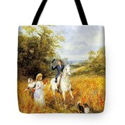 The Morning Ride Tote Bag