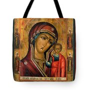 The Mother And Child Tote Bag