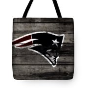 The New England Patriots 3a Tote Bag