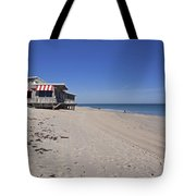 The Ocean Grill At Vero Beach In Florida Tote Bag