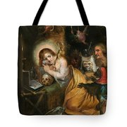 The Penitent Mary Magdalene Visited By The Seven Deadly Sins Tote Bag