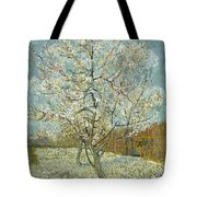 The Pink Peach Tree Tote Bag