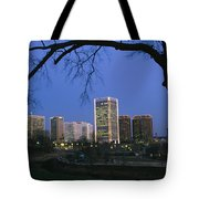 The Richmond, Virginia Skyline Tote Bag