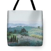 The Rolling Hills Of Tuscany Tote Bag