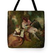 The Scale Of Love Tote Bag