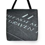 The Second Commandment Tote Bag
