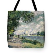 The Seine At Argenteuil Tote Bag
