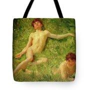 The Sunbathers Tote Bag