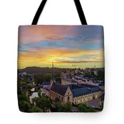 The Superb View Of The Grund, Luxembourg Tote Bag