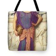 The Tambourine Girl Tote Bag