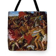 The Victory Of Joshua Over The Amalekites Tote Bag