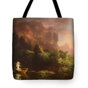 The Voyage Of Life - Childhood Tote Bag