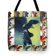 The Winged Victory - Paris - Louvre Tote Bag by Marianna Mills