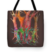 They Came To Me At Dawn Tote Bag