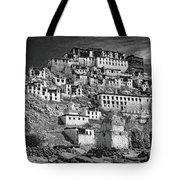 Thiksey Monastery Tote Bag