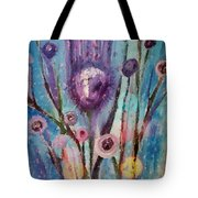 Thistle Queen Tote Bag