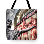 Tony Adams Statue Emirates Stadium Tote Bag