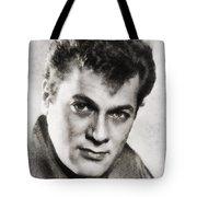 Tony Curtis, Vintage Hollywood Legend Tote Bag