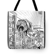Two Too Many Tote Bag