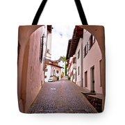 Town Of Kastelruth Street View Tote Bag