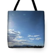Travelling To Flagstaff Tote Bag