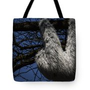 Tree Decorated With Apes Tote Bag