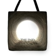 Tunnel Text And Shadow Concept Tote Bag