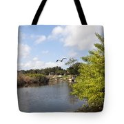 Turkey Creek In Palm Bay Florida Tote Bag