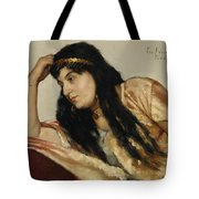 Turkish Woman Tote Bag