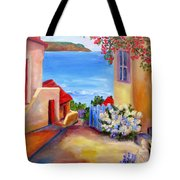 Tuscany Village  Tote Bag