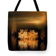 Twilight On The Bayou Tote Bag
