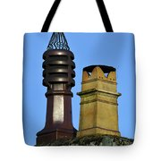 Two Chimney Pots. Tote Bag