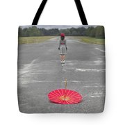 Umbrella Tote Bag by Joana Kruse