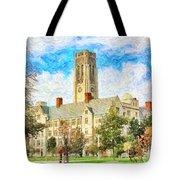 University Hall Tote Bag