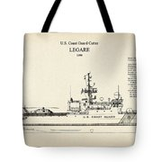 U.s. Coast Guard Cutter Legare Tote Bag