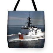U.s. Coast Guard Cutter Waesche Tote Bag