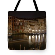 Venice By Night Tote Bag by Joana Kruse