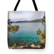 View Across Lake Tahoe Tote Bag