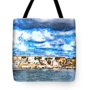 View Of Brindisi From The Ship Tote Bag