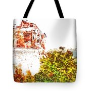 View Of The Village Tote Bag
