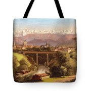 views of Bern and the Bernese Oberland Tote Bag