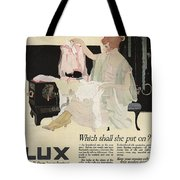 Has It Really Been Laundered Vintage Soap Ad Tote Bag