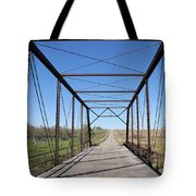 Vintage Steel Girder Bridge Tote Bag
