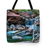 Virgin River Zion  Tote Bag